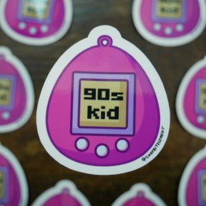 Bit Element - 90's kid sticker