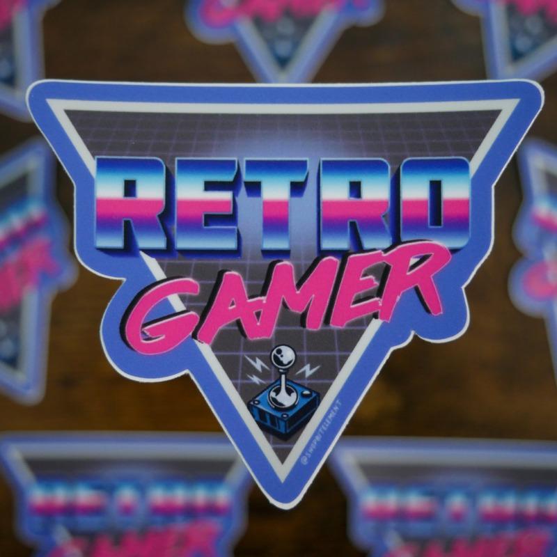 Bit Element - Retro Gamer sticker
