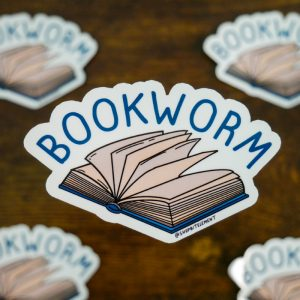 Bit Element - Bookworm sticker