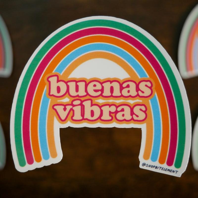 Bit Element - Buenas Vibras sticker