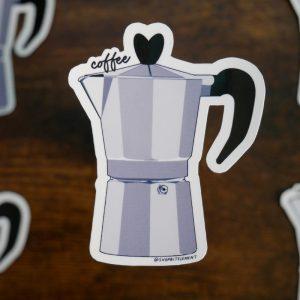 Bit Element - Coffee Love sticker