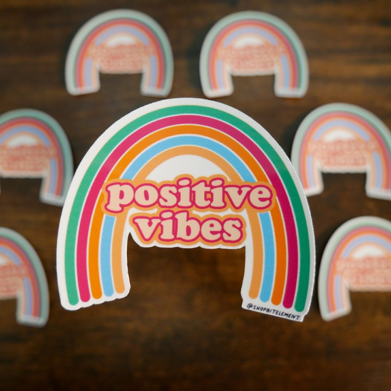 Bit Element - Positive Vibes sticker